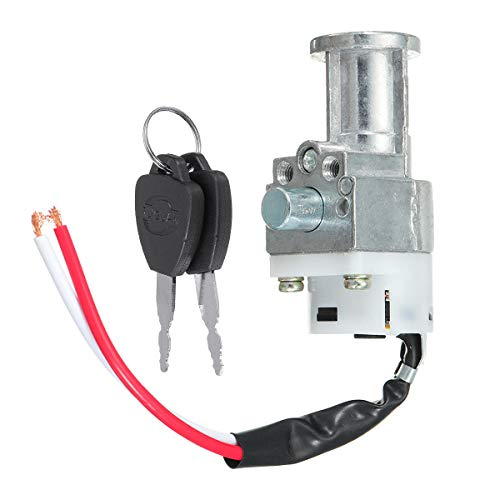 Unbekannt batería Chager cerradura interruptor de encendido con 2 llaves para motocicleta...