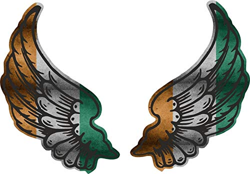 Akachafactory sticker vleugel motorfiets biker vlag CI ivoorkuste