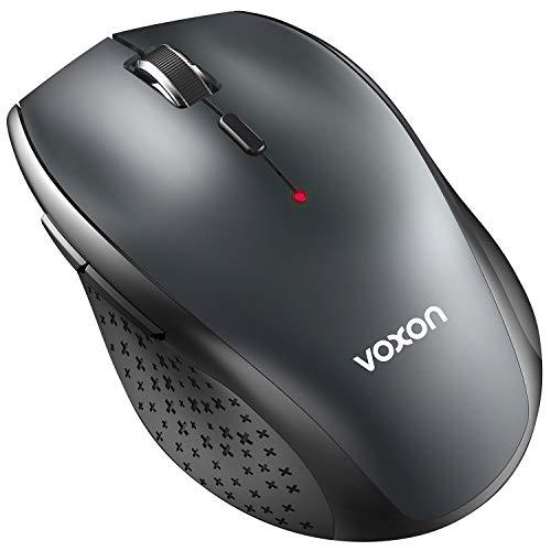 VOXON 3000 DPI Bluetooth Maus Kabellose Maus Wireless Bluetooth Mouse für PC Mac, 5 verstellbare DPI Level