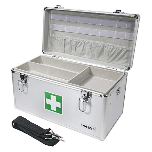 HMF HMF 14701-09 Alu Medizinkoffer, Koffer Bild