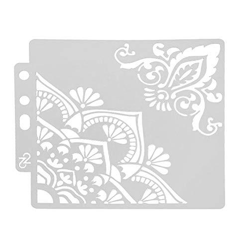 Everpert Wiederverwendbare Schablone für Kuchen/Dekoration/Brombeer/Scrapbooking, Geburtstagskarte, Wanddekoration, Bastelvorlage zum Backen