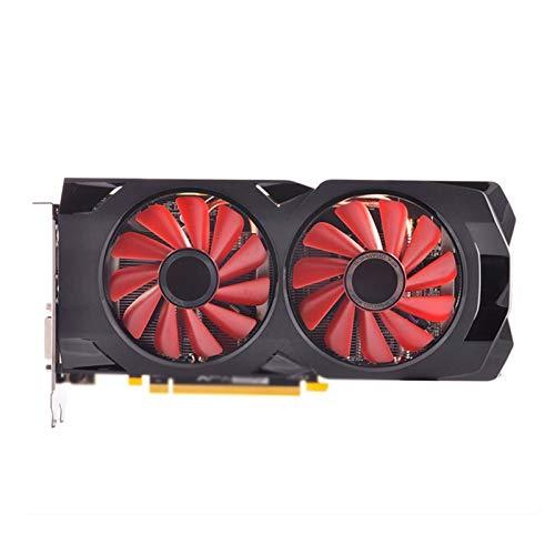 Tarjeta De Gaming Graphics Fit For XFX RX 470 4GB Tarjeta De Video 256bit Gddr5 Ajuste para Fit For AMD RX 400 VGA DisplayPort RX474 HDMI Usado Tarjeta Gráfica para Juegos Edition