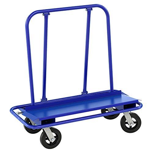 Bon Tool 84-499 Drywall Cart 4 Swivel Casters 2 Locking
