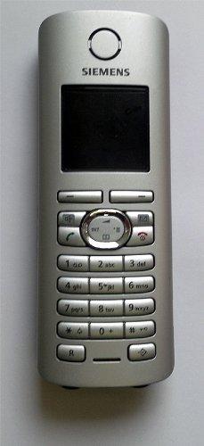 / Siemens Gigaset S45 S 45 colour Platinum, sin cargador de teléfono, / extensión reemplazo para cargar