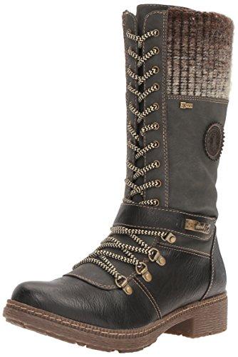 Spring Step Women's Ababi Winter Boot, Black, 42 EU/10.5-11 M US