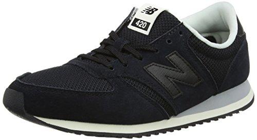 New Balance Damen 420 Sneaker, Schwarz (Black), 38 EU