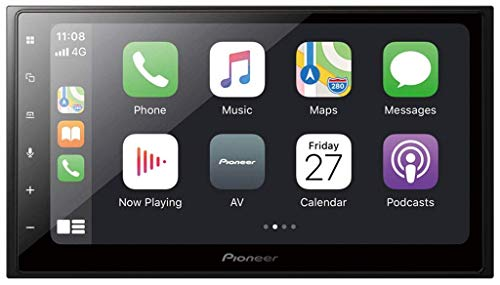 Pioneer SPH-DA250DAB – Mechless Doppel-DIN-Stereo-System für Apple Car Play / Android Auto, DAB & WAZE