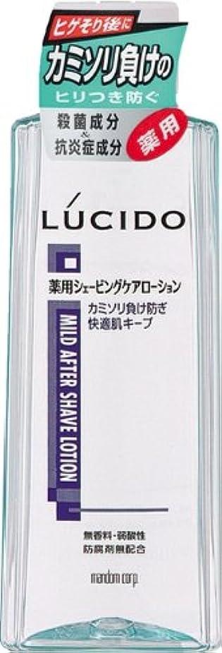 ラバはげ穴LUCIDO (ルシード) 薬用ローション カミソリ負け防止 (医薬部外品) 140mL