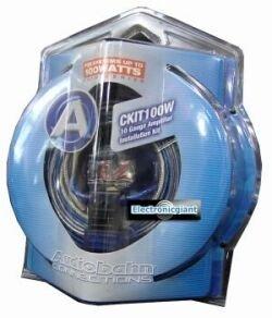 Best Buy! Audiobahn CKIT100W, 6mm² AMP Kit