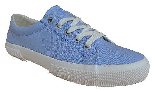 Ralph Lauren Lauren by Sneakers Jolie NE Canvas azul claro,