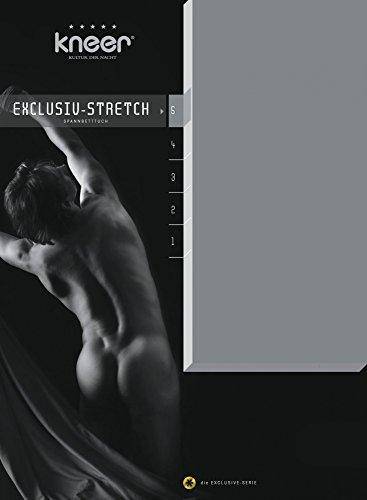 KNEER Exclusieve Stretch Q93 40 cm Extra Hoog Hoeslaken Kleur: 97 – Lelie, Afmetingen: 90 x 190 – 100 x 220 cm