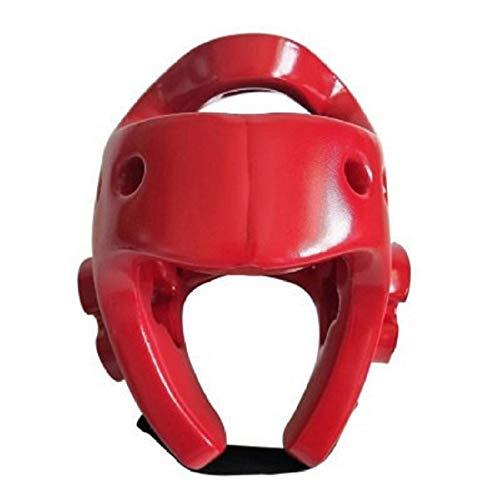 SIWEI Verstellbarer Kopfschutzhelm Karate-Schutzhelm Universalhelm für Kinder Und Erwachsene Fahrradhelme für Sanda Judo Taekwondo