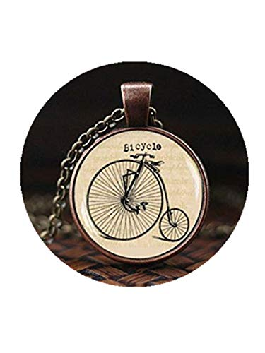 Fahrrad Halskette Hipster Vintage Style Bike Anhänger Vintage Fahrrad Schmuck alt Fahrrad Anhänger Antik Fahrrad Foto Bild Kette
