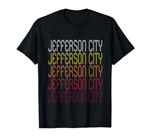 Jefferson City, MO | Vintage Style Missouri T-shirt