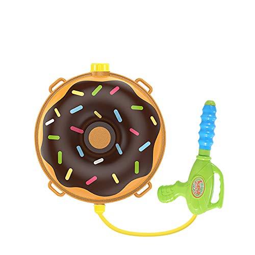 Binhe Mochila para pistola de agua para niños – Water Shooter con tanque Lady Bug juguete – Summer Outdoor juguete para piscina playa juguete de agua para niños arco iris y nube (D)