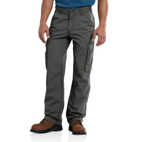 Carhartt Men's Force Tappen Cargo Pant, Gravel, 36W X...