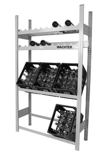 Getränkeregal für Kisten und Weinflaschen