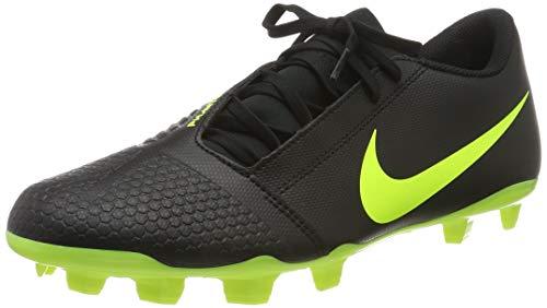 Nike Unisex-Erwachsene Phantom Venom Club FG Fußballschuhe, Schwarz (Black/Volt 007), 41 EU