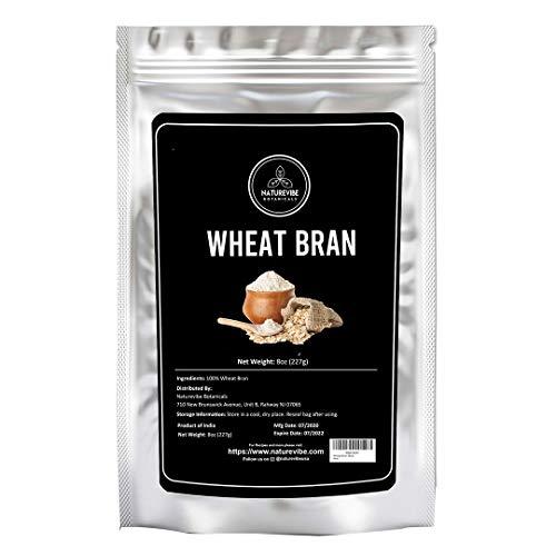 Naturevibe Botanicals Wheat Bran, 8 ounces