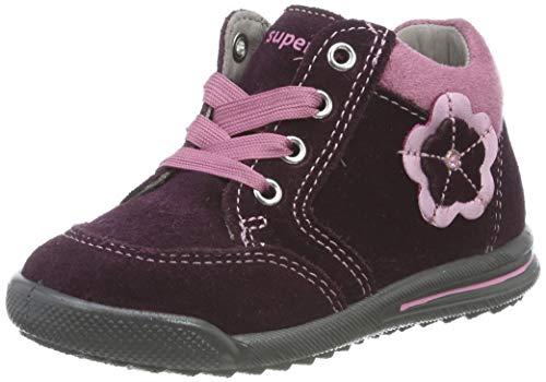 Superfit Baby Mädchen AVRILE MINI Sneaker, Rot 50), 25 EU