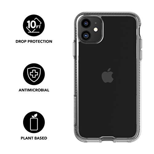 Tech21 Pure Clear Funda Protectora Fina Rígida para iPhone 11 - Transparente
