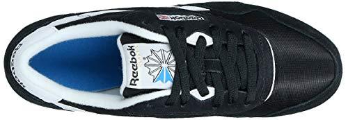 Reebok Classic Nylon, Zapatillas de Running para Mujer, Negro (Black/White), 40 EU