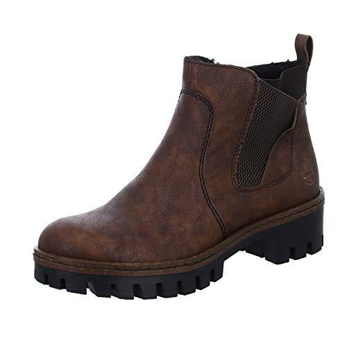 Rieker Damen 75754 Chelsea Boots, Mogano Brown 25 Braun, 38 EU