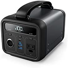 Anker Powerhouse 200, 200Wh/57600mAh Portable Rechargeable Generator Clean & Silent 110V AC Outlet/USB-C Power Delivery/USB/12V Car Outlets, for Fast Charging, Camping, Emergencies, CPAP, and More