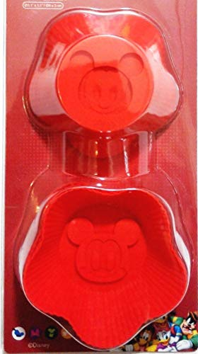 Set of 6 Mickey Mouse Silicone Baking Cup Cake Muffin Chocolate Soap Mold Reusable Cupcake Liner Bakeware