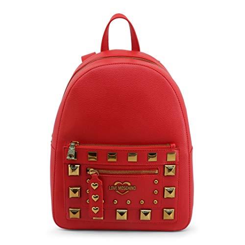Love Moschino JC4282PP0BKO0, Mochila para Mujer, rojo, Normale