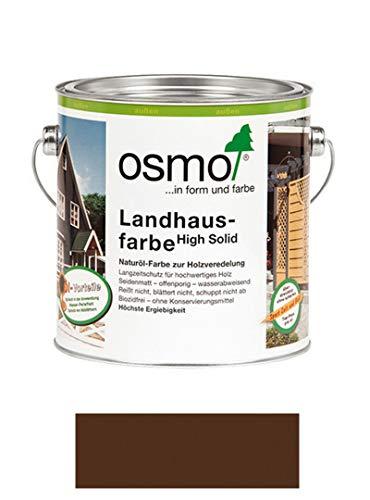 Osmo Landhausfarbe Dunkelbraun 2,50 l - 11400010
