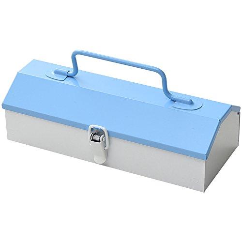 山善 工具箱 ツールボックス スチール チャーミーボックス ミニ charmy box mini ブルー CBM-TTC-BW