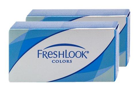 Freshlook Colorblends (Dioptrien: 0.00 / Radius: 8.60 / Durchmesser: 14.50 / Farbe: Silbergrau)