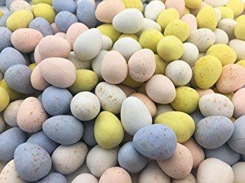 Cadbury Mini Eggs Milk Chocolate Candy 5 Pounds Bulk, All Kosher Dairy Eggs With A Crisp Sugar Shell 5 lbs Bulk Cadbury Egg Special Buy