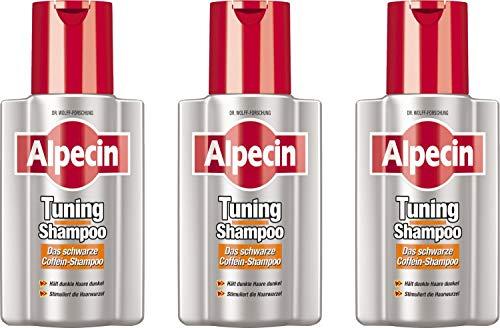 Alpecin Tuning Shampoo Schwarz 3x200 ml