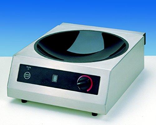 Saro 301 – 1020 Wok de inducción eléctrica, coldfire
