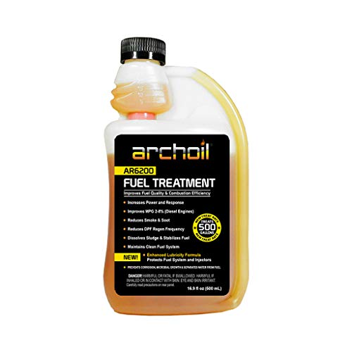 Archoil AR6200 (16 oz) Fuel Treatment - Treats 500 Gallons - Diesel Additive/Fuel Additive