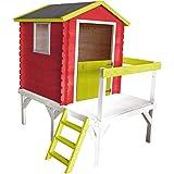 Soulet Petite cabane en Bois pour Enfant sur pilotis - Zoe