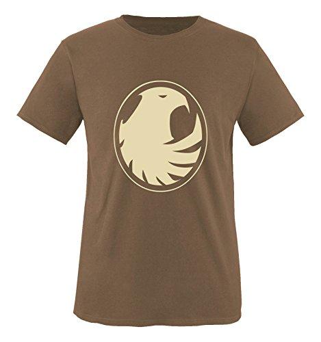 Comedy Shirts - Phönix Motiv - Herren T-Shirt - Braun/Beige Gr. XXL