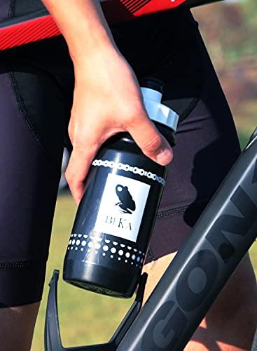 BEKA(ベーカ)ロードバイクおしゃれデザインウォーターボトル自転車水筒ドリンクサイクリングMTBマウンテンバイクランニング登山スポーツ飲みやすい給水口DUNA(ドナウ)容量650ml