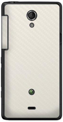 atFoliX FX-Carbon-Alpine - Skin para Sony Xperia T Mint