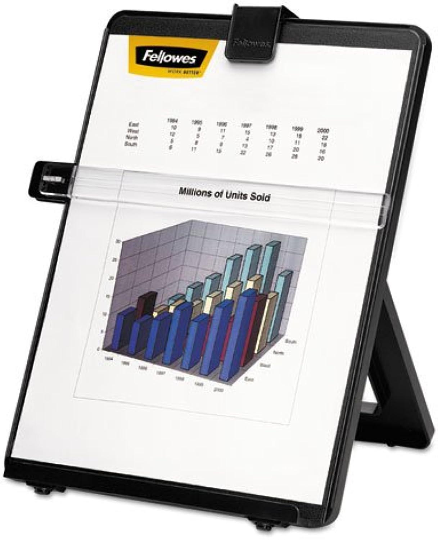 la red entera más baja Fellowes Mfg Co. FEL21106 escritorio escritorio escritorio copyholder-No magn-tico-10-.13in.x7-.38in.x11-.25in -. BK  hasta 42% de descuento