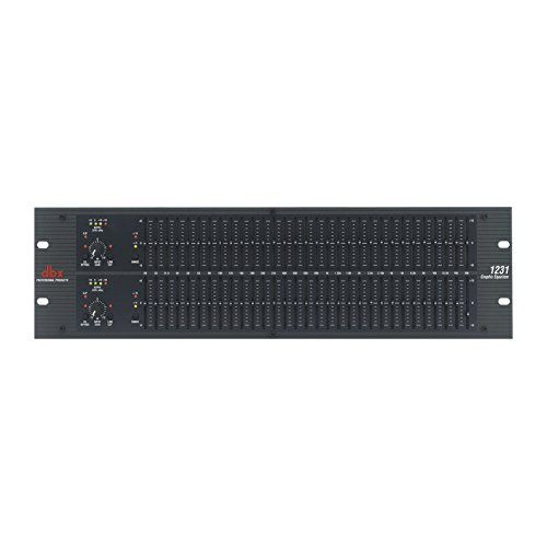 dbx 1231 Dual-Channel, 31-Band Graphic Equalizer ,...