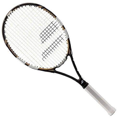Tennis Evoke 102 schwarz Griffgröße L4