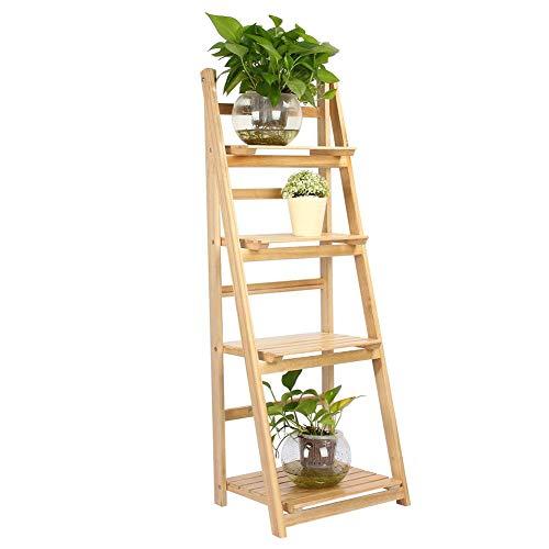 estanteria escalera madera