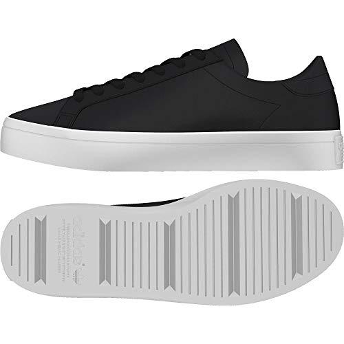adidas Courtvantage W, Scarpe da Fitness Donna, Nero (Negbas/Grmetr/Ftwbla 000), 36 2/3 EU