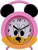Addic AS730 Joyful Mouse Cute Plastic Alarm Clock for Bedside, Study Table, Home