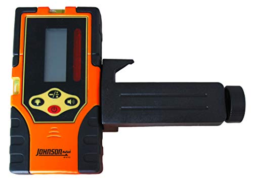 Johnson Level & Tool 40-6715 Two-Sided Laser Detector with Clamp