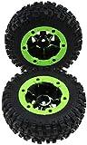 Bento SUV neumáticos de Goma del neumático de Coche Modelo Mini Set, Accesorios Llantas para SUV 12428, Adaptarse a una Variedad de neumáticos de automóvil,Linker reifen (zwei)
