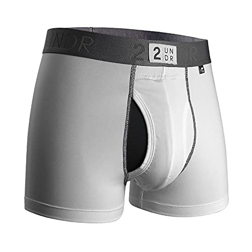 "2UNDR Mens Power Shift 3"" Boxer Trunk Underwear"